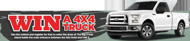Win a 4x4 Truck
